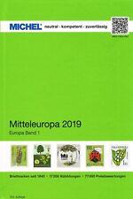 MICHEL CATALOGO EUROPA CENTRALE 2019 NUOVO VOLUME 1 - MITTELEUROPA BAND 1
