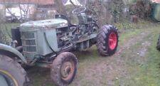 Bührer Traktor mit 4 Zylinder Ford Dieselmotor, umbaubar zum Geländestapler