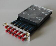 03-21-03626 Patchpanel Spleissbox R&M Glasfaser 12 x ST Buchse gebraucht