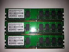 Geil Ram 1GB PC2-5300 DDR2 667MHz GG22GB667C5DC for Desktop working well !