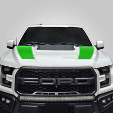 Hood Race Stripe kit for 2017 2018 2019 Ford Raptor F-150 Graphics Decals GREEN