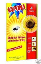 8 VAPONA Fenêtre Tournesol Stickers élimine Les Mouches Guêpe parasite Attracteur repousser