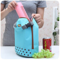 New Portable Insulated Thermal Cooler Lunch Box Tote Picnic Storage Bag Pouch