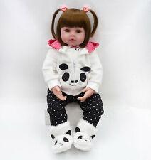 """22""""Bambole Rinascere Sale Reborn Baby Doll Lifelike Silicone Bambole Xmas Gift"""