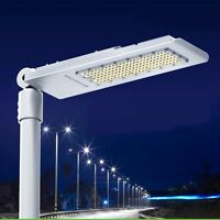 120W 150W Slim LED Street Road Light White Outdoor Yard Industrial Lamp US Ship