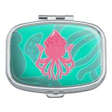 Cute Squid Tentacles Ocean Rectangle Pill Case Trinket Gift Box