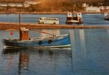 More details for kyle of lochalsh fishing boat trawler brd28 ferry bus coach   postcard  p12 a14