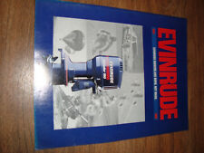 Evinrude Catalog 1991 Evinrude Owners Are Born Not Made Motor Line Up