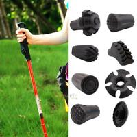 Trekking Pole Adjustable Walking Stick Hiking Accessory Rubber Instrument Feet