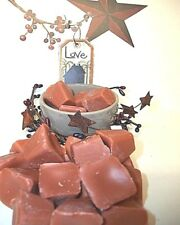 40 pc MOUNTAIN HAZELNUT CAFE Soy Paraffin Wax Tart Melts Crumbles Chunks Chips