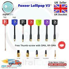 Foxeer Lollipop V3 5.8G 2.5dBi RHCP Mini FPV Drone Antenna SMA RP-SMA UFL MMCX