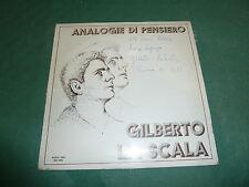 GILBERTO LA SCALA - ANALOGIE DI PENSIERO  autografato