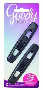 Goody Comfort Barrettes 2 PCS No Metal Ouchless Flex (Item#: 02079)
