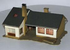 Für Spur H0: Vollmer 3712 Einfamilienhaus/Bungalow- fertig aufgebaut - Rarität