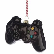 GAME CONTROLLER GAMING CHRISTMAS DECORATION BAUBLE NEW