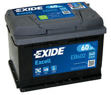 EB602 3 Year Warranty Exide Battery 60AH 520CCA W075SE Type 075