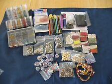Large Lot Beads Jewelry Crafts Needlework Mill Hill, seed, pearl, metal, more