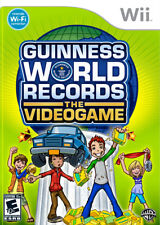 Guinness Book of World Records WII New Nintendo Wii
