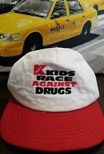 Rare 90s Kmart Race Against Drugs Vintage Snapback hat