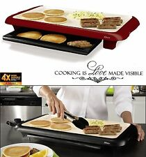 Electric Flat Top Grill Restaurant Professional Commercial 24'' Kitchen Griddle
