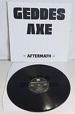 Geddes Axe Aftermath Black Vinyl LP Record  new nwobhm