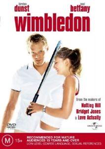 Wimbledon (DVD Region 4) Kirsten Dunst, Paul Bettany, Sam Neill, Jon Favreau