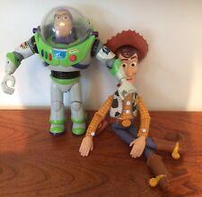 Disney Pixar Toy Story Buzz Lightyear et Talking Woody