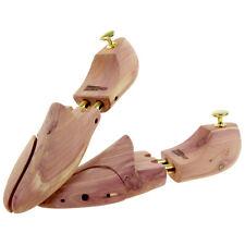 Schuhspanner aus Zedernholz Echtholz für Damen und Herren mit Doppelfeder 1 Paar