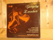 RICCARDO ODNOPOSOFF Violin Recital Swiss TURICAPHON CONCERT HALL SMS STEREO LP