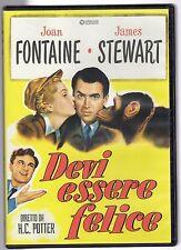 dvd DEVI ESSERE FELICE Joan FONTAINE James STEWART