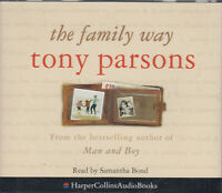The Family Way Tony Parsons 3CD Audio Book Samantha Bond Abridged FASTPOST