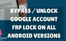 GOOGLE ACCOUNT REMOVAL/BYPASS GOOGLE ACCOUNT SAMSUNG & LG/FRP ON/REMOTE SERVICE