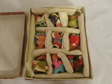 Clay Figurines Souvenir Oriental Asian Hand-painted Vtg. 9 WUXI Hand-crafted