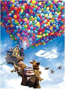 Disney Jigsaw Puzzle 800 Pieces Up Balloon House Fly in the Sky Russell and Carl