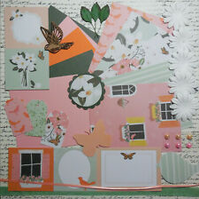 "Card Making Kit ""Blossom"" Paper & Embellishments to Make 5 Cards"
