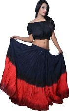 12 Yard Skirt Gypsy Tribal Pure Cotton Skirts Belly Dance Dancing ATS 2 Color