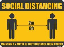 "Social Distancing sign 8.5""X 11"""