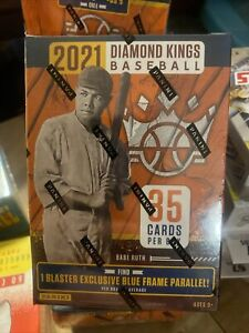 2021 Panini Diamond Kings Blaster Box Factory Sealed 2021 Diamond Kings Baseball