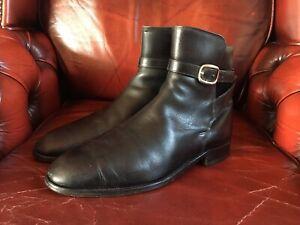 Grenson Footmaster Vintage Jodhpur Boots Style 7737 Mens Size 8 UK
