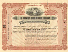 Harwood Manufacturing Company > 1908 New York stock certificate
