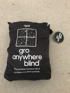 Grobag Gro Anywhere Portable Adjustable Blackout Blind Suction Cups Stars & Moon