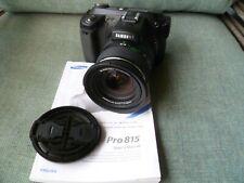 Samsung Pro815 8.0MP Digital Camera - Black