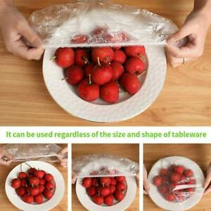 Fresh Keeping Bags 100Pcs Dustproof Disposable Bowl Cover Vacuum Sealed 2021
