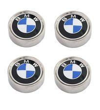 For BMW E12 E23 E24 E28 Set of 4 Wheel Covers w/ Emblem Genuine 36 13 1 117 649