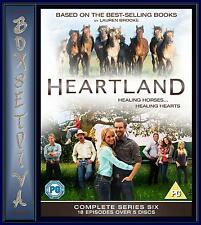 HEARTLAND - COMPLETE SEASON 6 **BRAND NEW DVD **