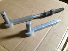 Fieldgate hinge hook to bolt and drive for 5 bar type gate post. Galvanised