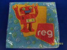 RARE Rubbadubbers PBS Nickelodeon Kids Birthday Party Paper Beverage Napkins