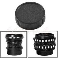 2Pcs Rear Lens Cap Cover For M42 42mm 42 Screw Mount Black New