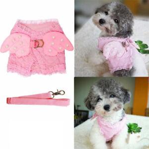 Xsmall Small Medium Dog Harness and Leash Cat Vest F Maltese Shih Tzu Schnauze