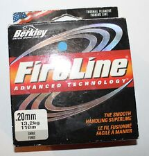 Tresse Berkley Fireline Advanced 0.20mm 13.200kg 110m smoke